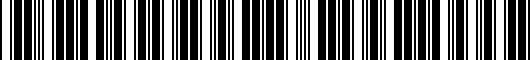 Barcode for 768110C010E1