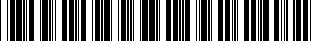 Barcode for 9098702006