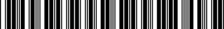 Barcode for 9011008036