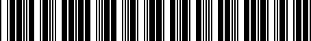 Barcode for 9033155001