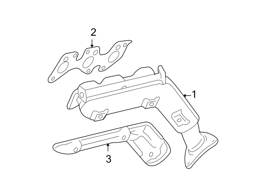 Toyota Tundra Exhaust  Heat  Shield  Manifold
