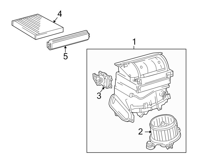 2015 Toyota Corolla Cabin Air Filter Odor Deodorant