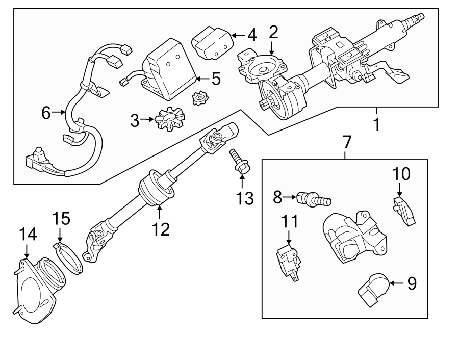 8965006060 - Toyota Module. Steering. Control. Power ...