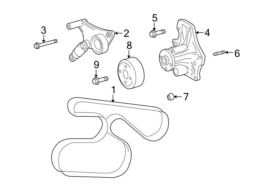 Wiring Diagram  32 Scion Tc Serpentine Belt Diagram