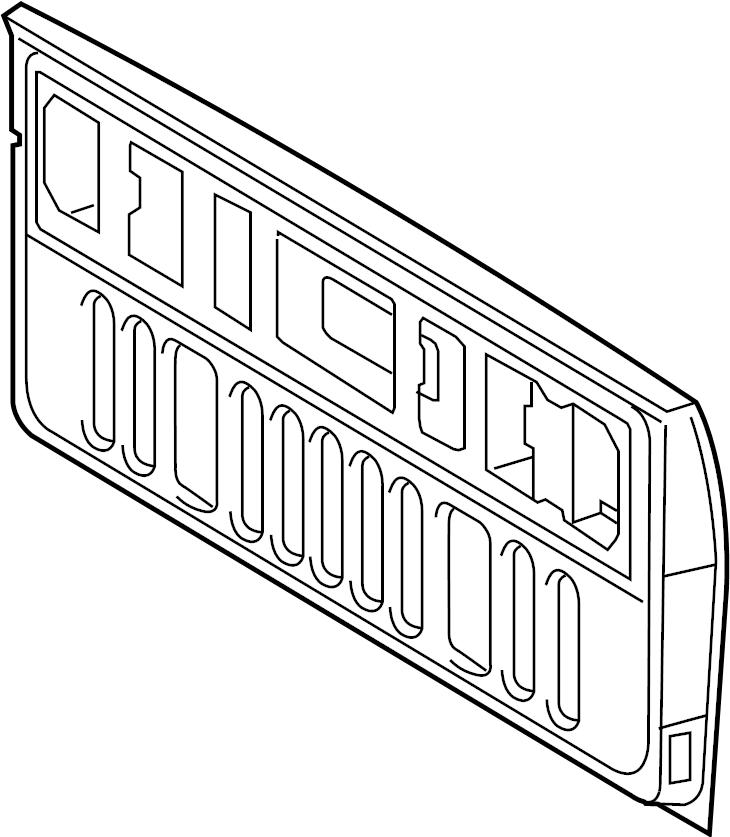 Toyota Tundra Tailgate  Rear