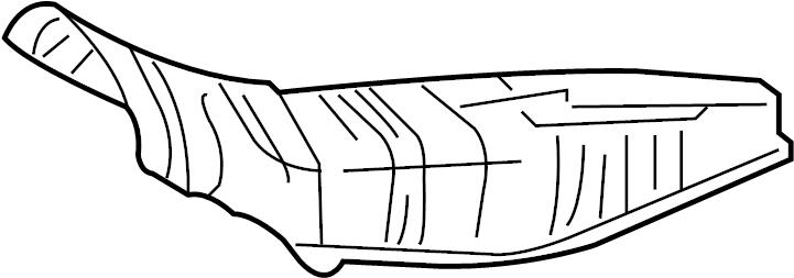 toyota corolla catalytic converter heat shield  floor pan heat shield  heat shield