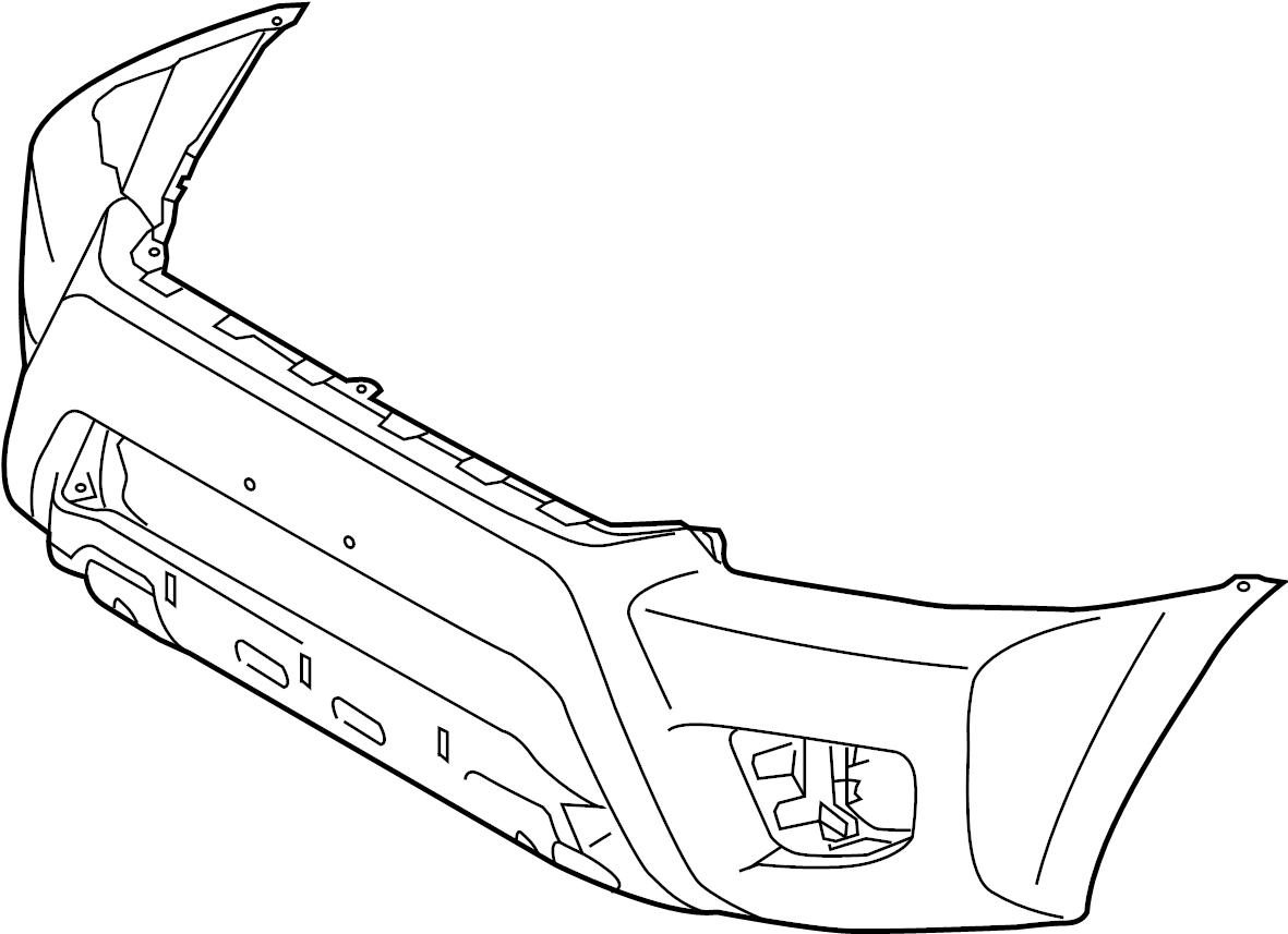 toyota tacoma rear bumper parts