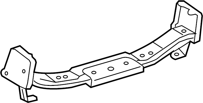 2011 toyota tacoma reinforcement sub-assy  rear bumper bar no 2