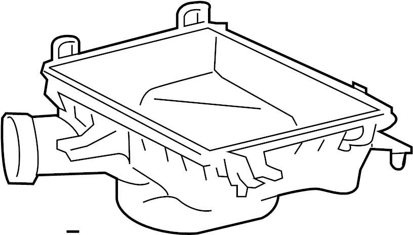 2012 Toyota Camry Air Filter Housing