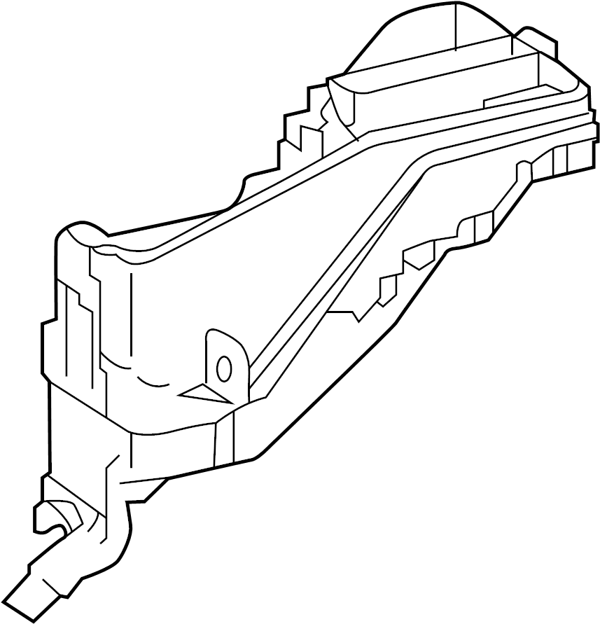 Toyota Camry Relay  Fuse  Box   Right