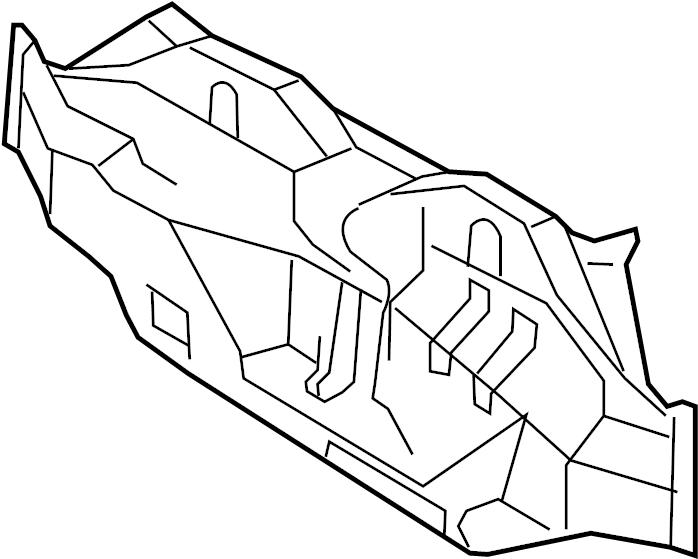 scion xa panel sub-assy  body lower back