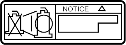 LABEL, SPARK PLUG NOTICE; PLATE, SPARK PLUG CAUTION