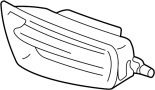 COVER, FRONT BUMPER HOLE, RH