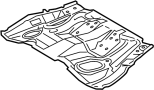Floor Pan (Front) image for your 1989 TOYOTA
