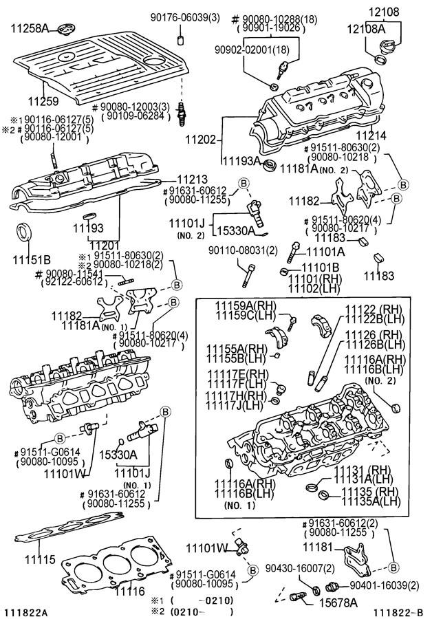 Toyota Sienna Engine Camshaft Position Sensor