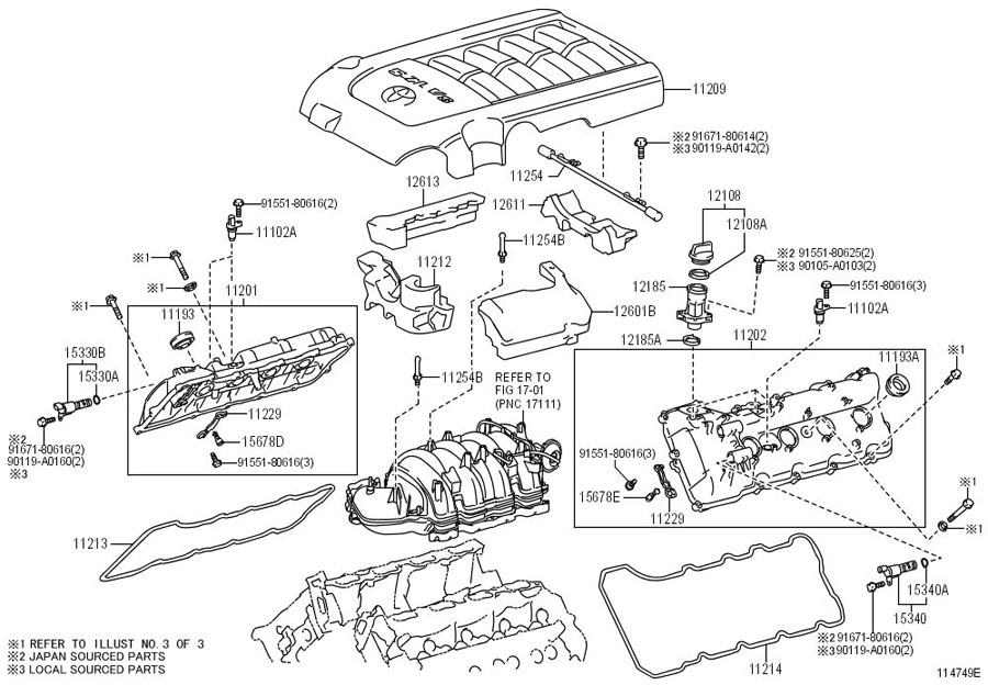 Toyota Tundra Engine Cover  5 7 Liter
