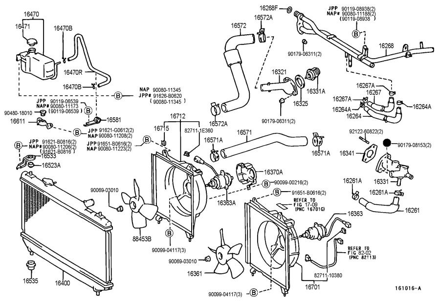 2002 Toyota Solara Camry Cooling System Diagram on 2000 Toyota Solara V6 Engine