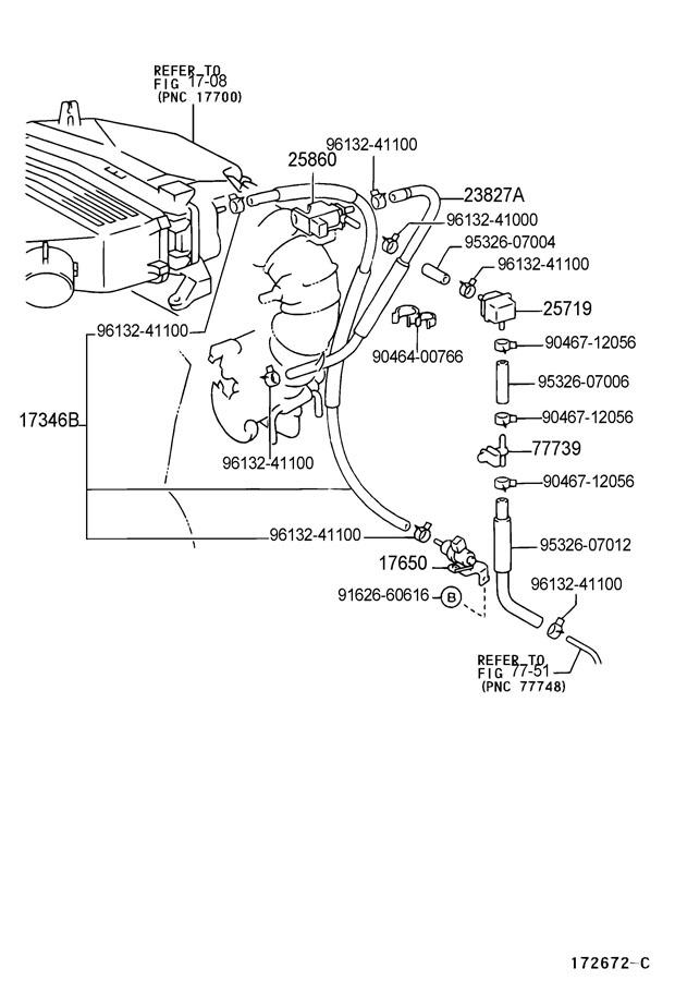 Toyota Rav 4 Tank  Vacuum Surge
