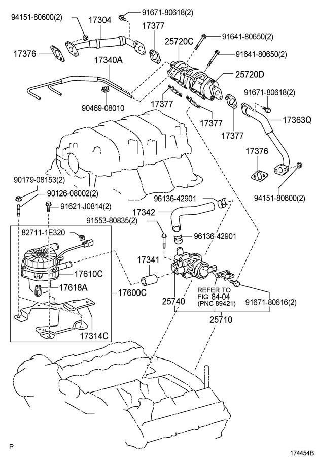 2007 Toyota Valve Assy  Air Control  Valve Sub