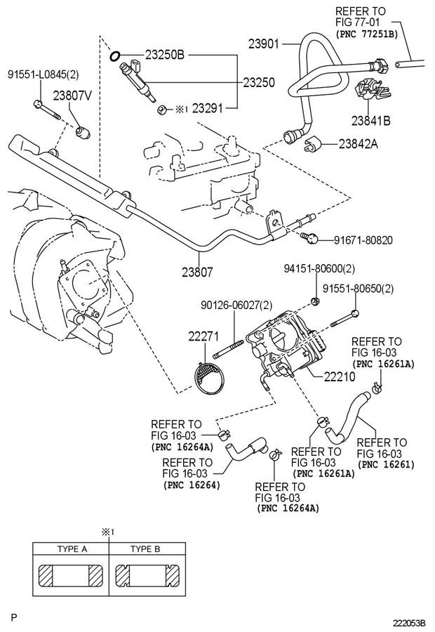 2008 Scion Body. Throttle. Injection. Seal. Gasket. Fuel ...