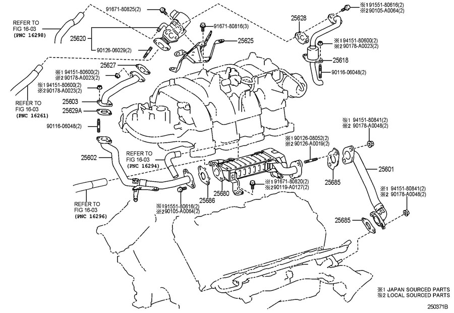 2008 Tundra Exhaust Diagram : toyota tundra egr valve 2562038240 toyota parts overstock ~ A.2002-acura-tl-radio.info Haus und Dekorationen