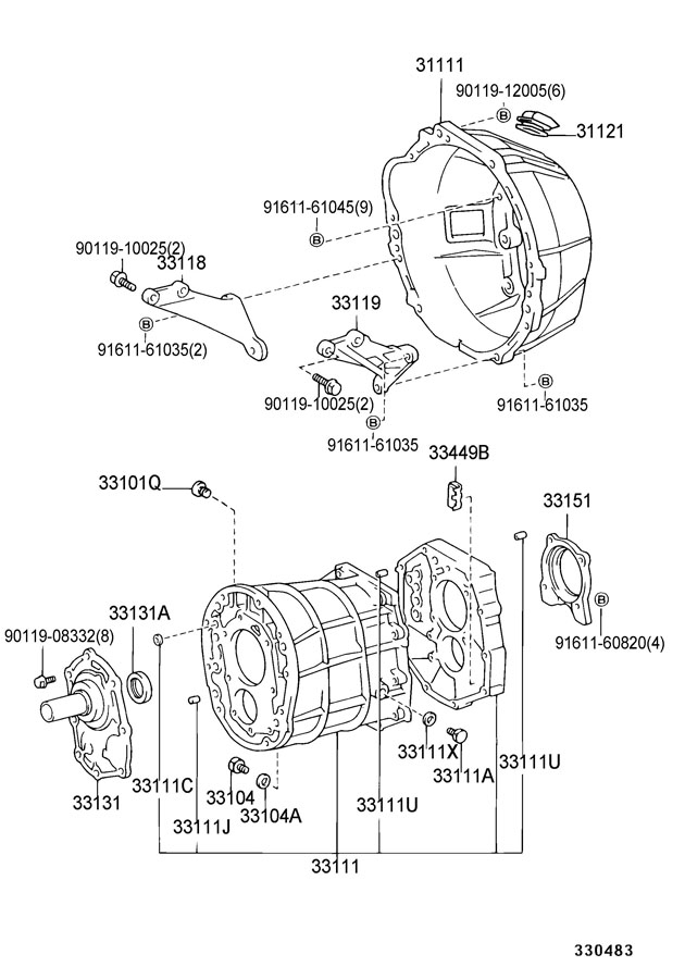 toyota pickup transmission parts diagram  u2022 wiring diagram