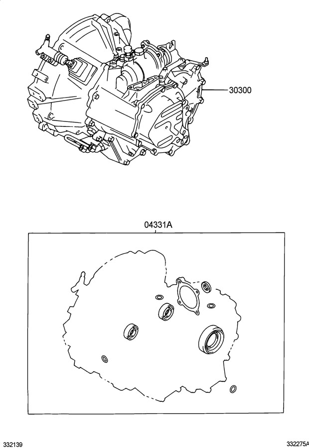 2006 Scion Tc Transaxle Assy  Manual  E350