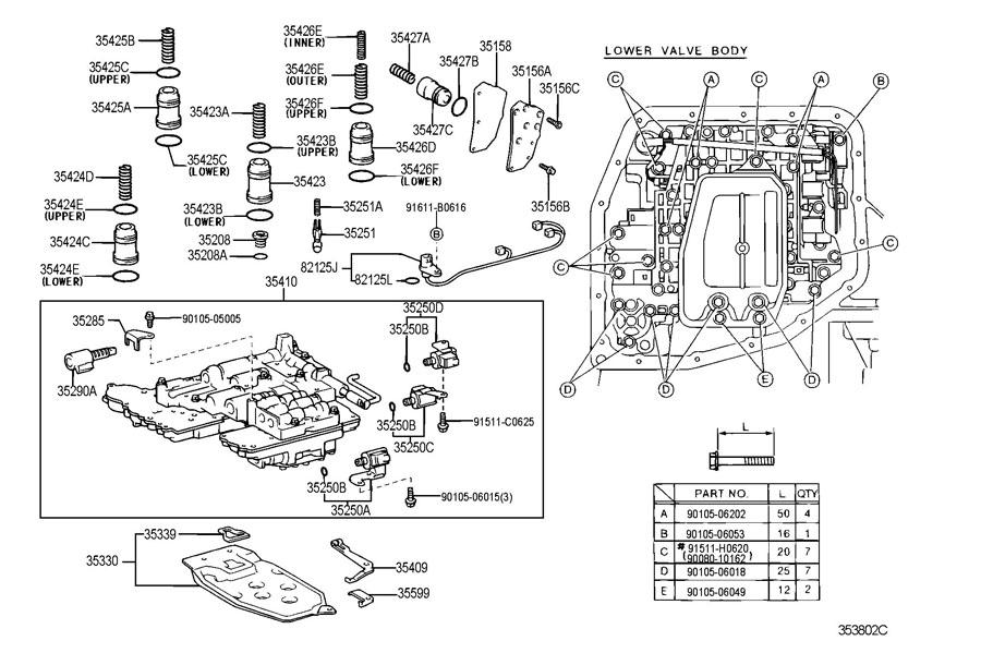 2004 toyota prius parts catalog