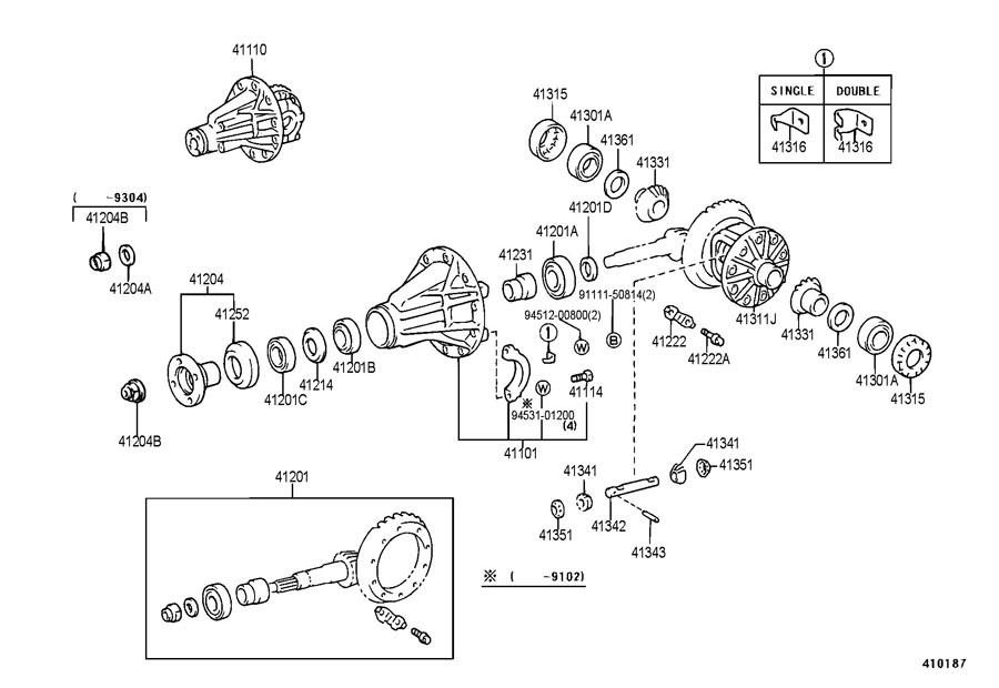 1993 toyota previa parts diagram  toyota  auto wiring diagram