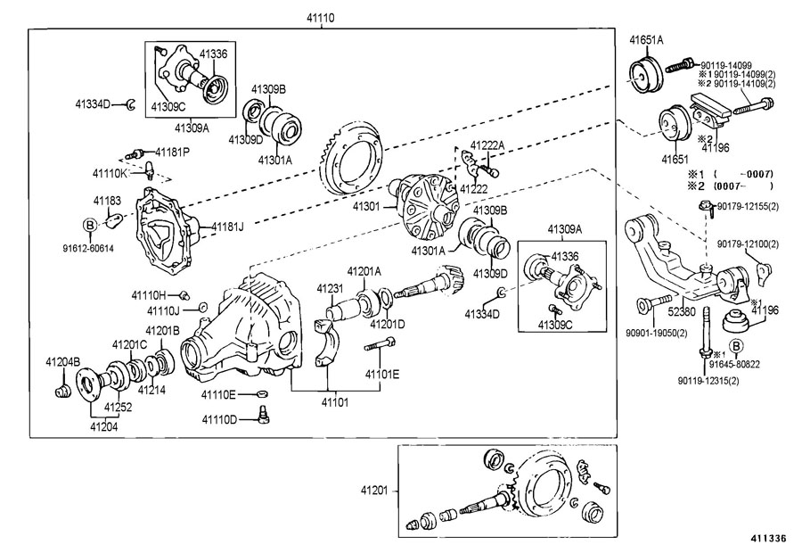 Toyota Rav 4 Plug  Breather  For Rear Differential