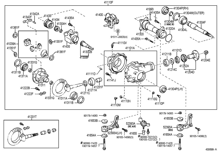 2000 Toyota Tundra Front Axle Diagram on 97 maxima specs