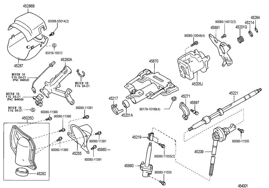2002       TOYOTA       TUNDRA    Shaft assy     steering    intermediate  no2  4586034020      Toyota    Parts Overstock