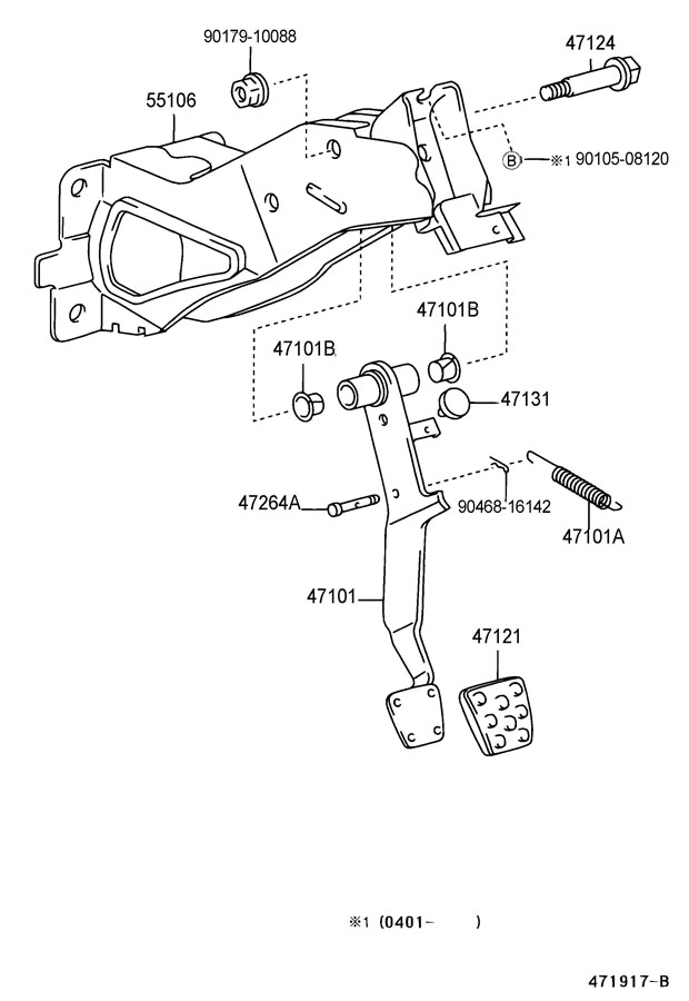 belt diagram 1996 toyota t100