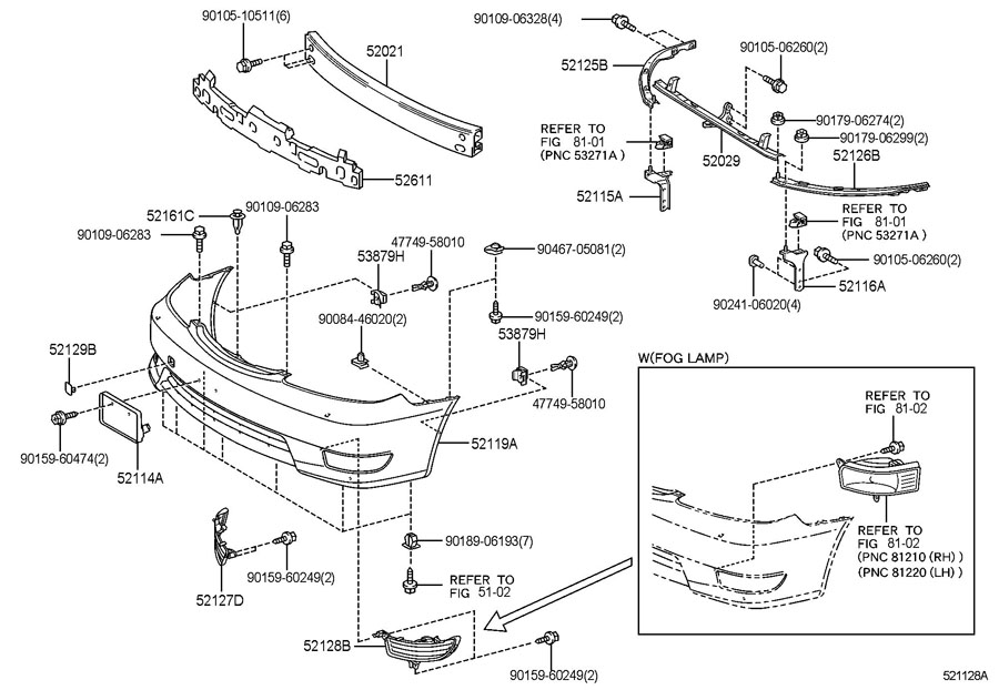 2000 toyota 4runner front bumper parts diagram  2000  free