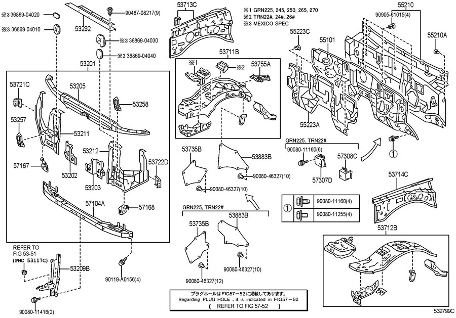 toyota sequoia interior parts diagram  toyota  free engine