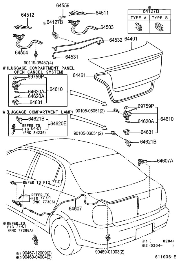 toyota echo key diagram
