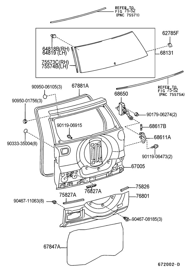 2008 Toyota Sequoia Parts Door on 1995 toyota ta a fuse box diagram