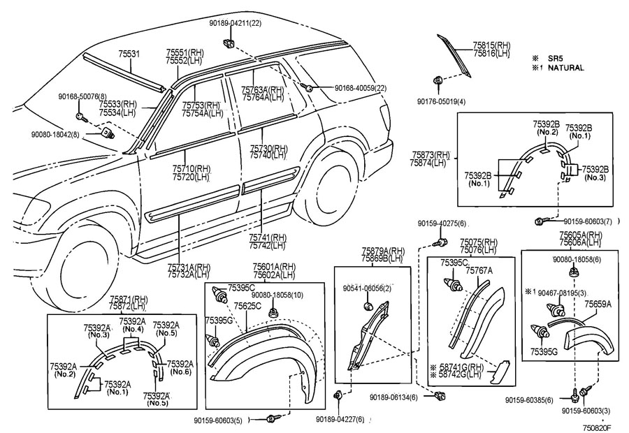 toyota sequoia air conditioner diagram