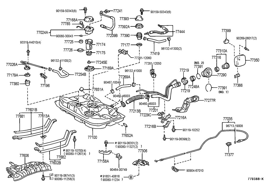 RepairGuideContent besides Explaining Catalysts Catalyst Codes together with Toyota Camry Serpentine Belt Tensioner furthermore RepairGuideContent in addition T9861955 Need diagram. on diagram for 1999 camry