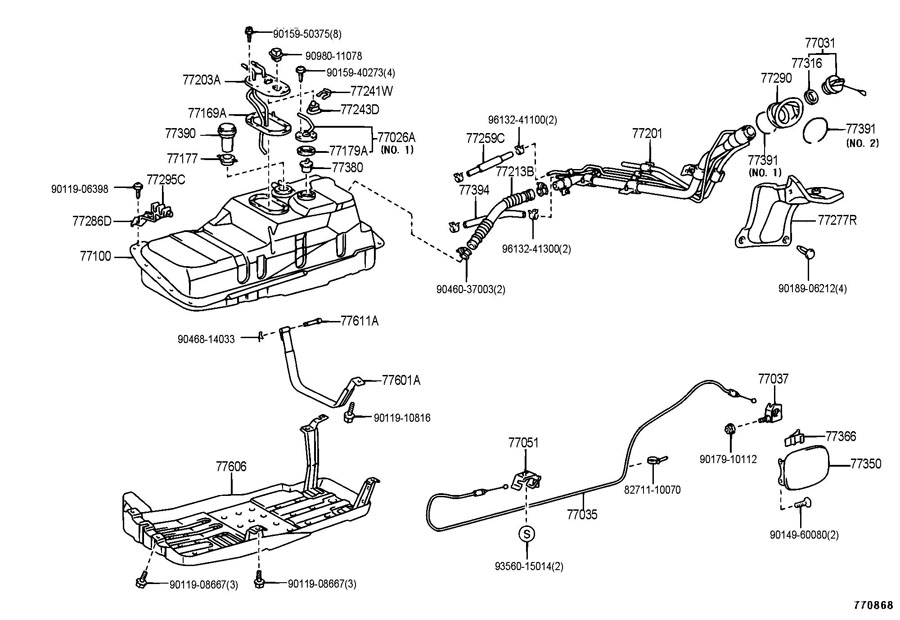 wiring diagram for 1996 toyota t100