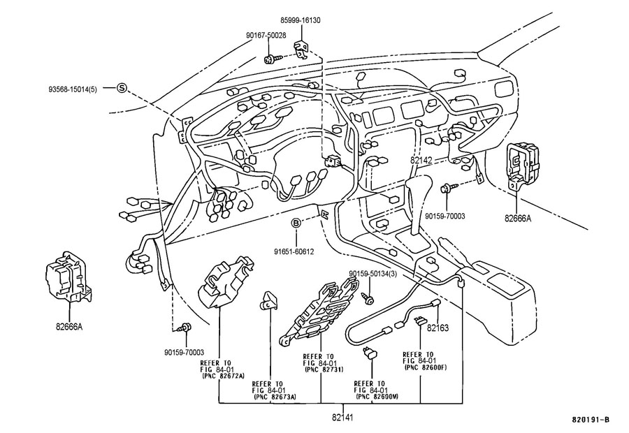B on 1992 Toyota Paseo Wiring Diagram