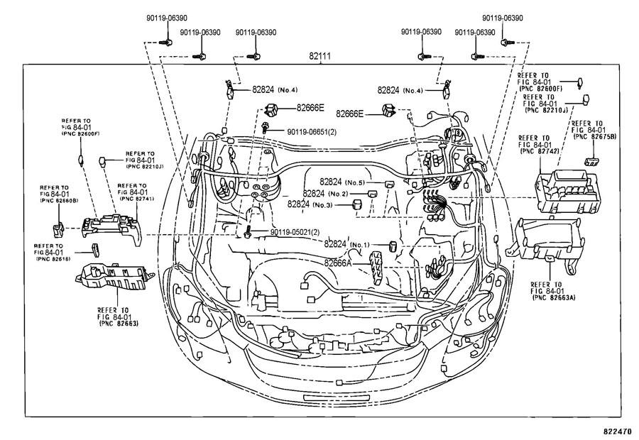 toyota tundra connector  wiring harness  cst