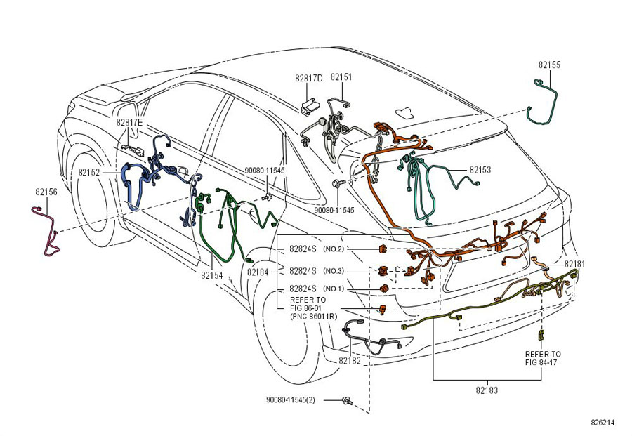 6l90e wiring harness diagram 8282420110 - toyota connector, wiring harness | toyota parts overstock #12
