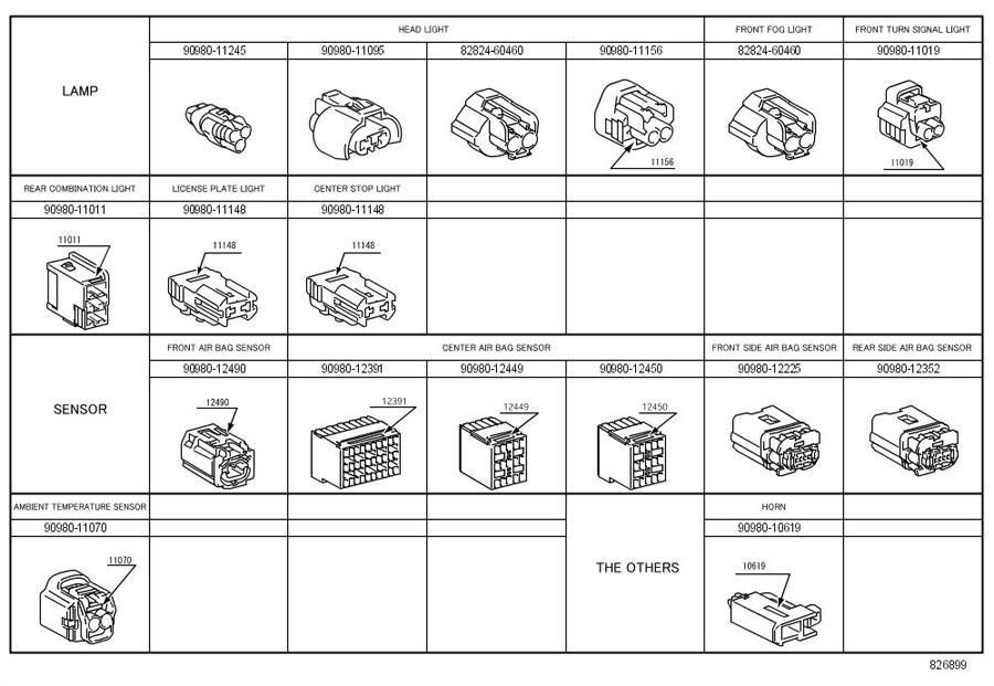 6l90e wiring diagram 8282460460 - toyota connector, wiring ha | toyota parts ... wiring diagram 1971 honda 750 four