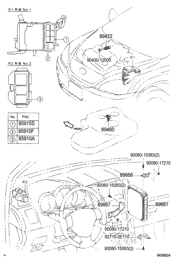 Diagram ELECTRONIC FUEL INJECTION SYSTEM for your 1991 TOYOTA 4RUNNER TRUCK, STANDARD 3000CC EFI, MANUAL , 5-SPEED