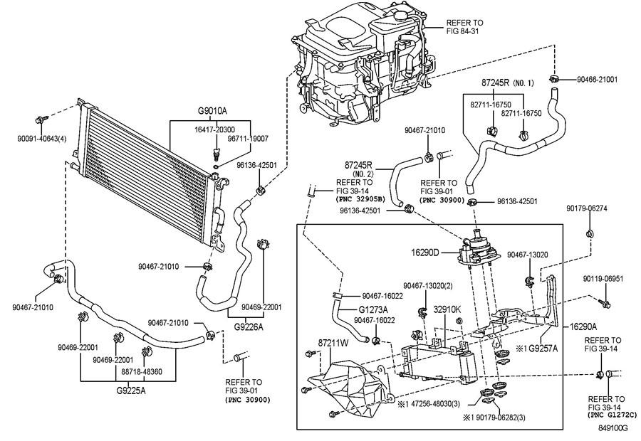 help  2008 highlander p0aee motor inverter temperature