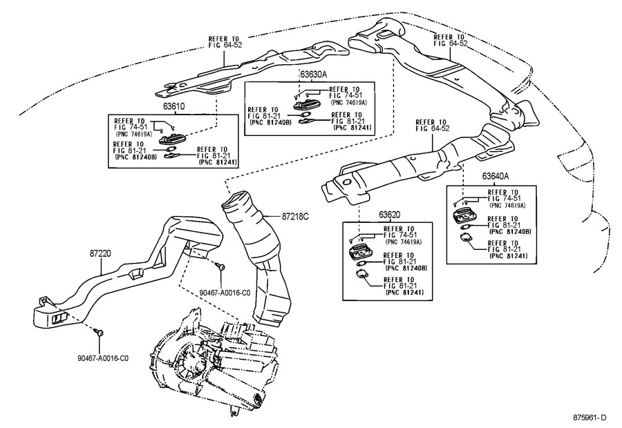 2014 toyota highlander seat diagrams