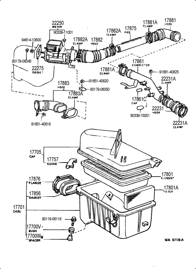 1992 toyota tercel engine diagram 9017906045    toyota    nut    toyota    parts overstock  9017906045    toyota    nut    toyota    parts overstock