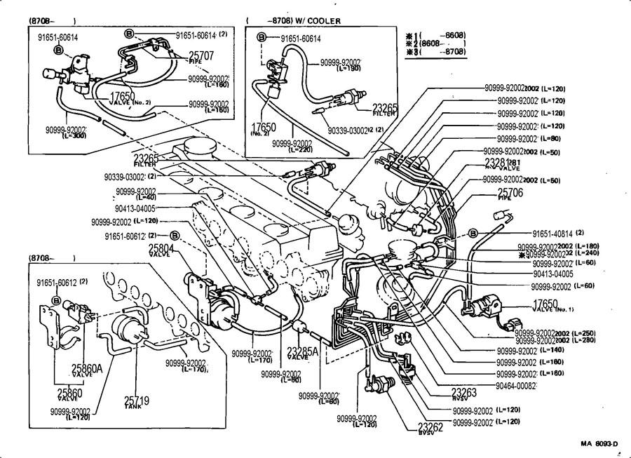 1991 Mr2 Engine Diagram