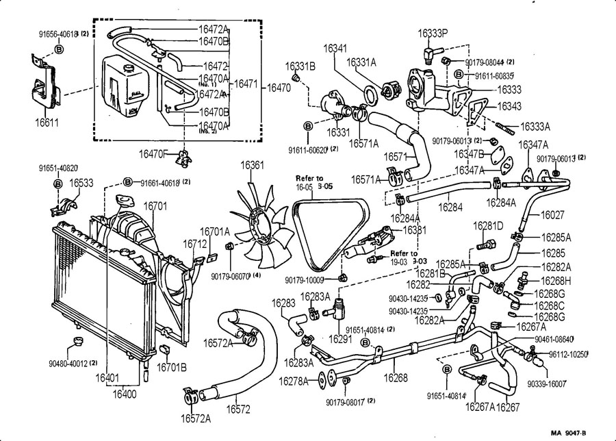 1638142021  TOYOTA Bar  fan belt adjusting   Toyota Parts